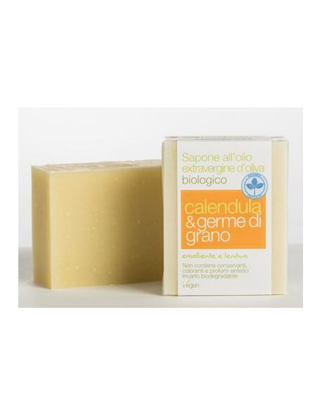 La Saponaria - Sapone al taglio Calendula e Germe di grano