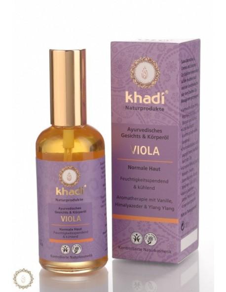 Khadi - Olio viso corpo Viola