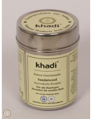 Khadi - Maschera viso al Sandalo