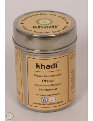 Khadi - Maschera viso all'Arancia