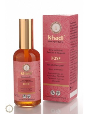 Khadi - Olio viso corpo Rosa