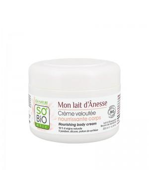 So'Bio Etic - Crema Vellutante Nutriente Per Il Corpo - Pelle da Normale a Secca