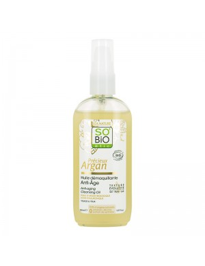 So'Bio Etic - Olio Detergente - Anti-Invecchiamento - Viso E Occhi