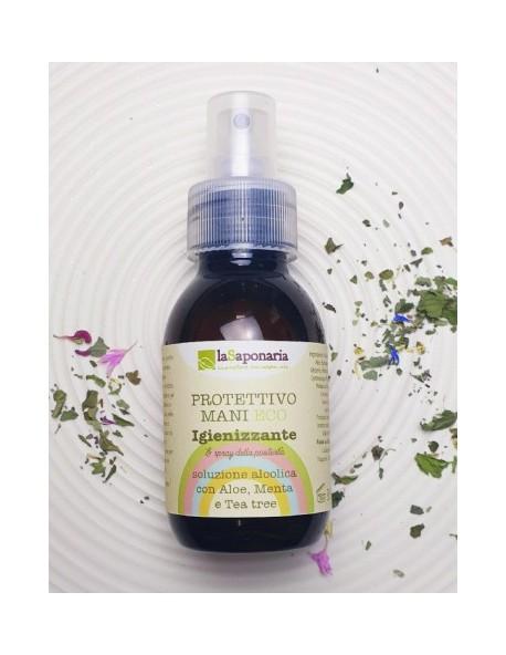 La Saponaria - Protettivo Spray Igienizzante mani