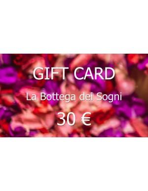 Gift Card 30€