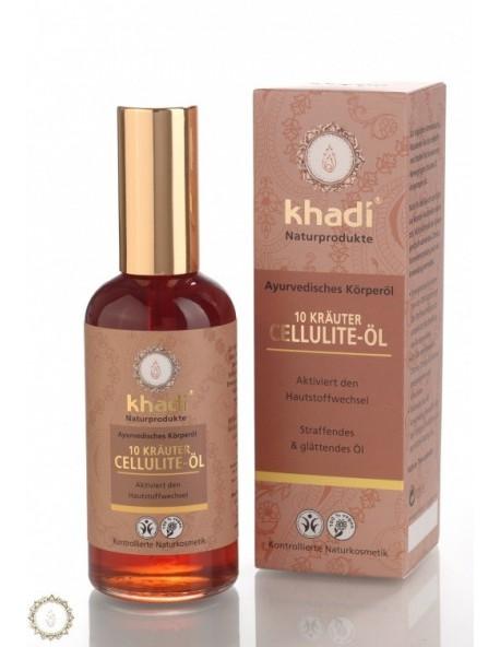 Khadi - Olio Anticellulite alle 10 Erbe