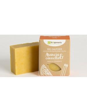 La Saponaria - Sapone al taglio Arancia e Cannella