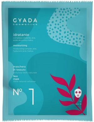 Gyada Cosmetics - Maschera in tessuto n. 1 - Idratante