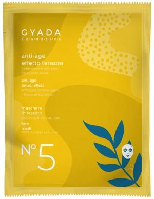Gyada Cosmetics - Maschera in tessuto n. 5 - Anti-age/Effetto tensore