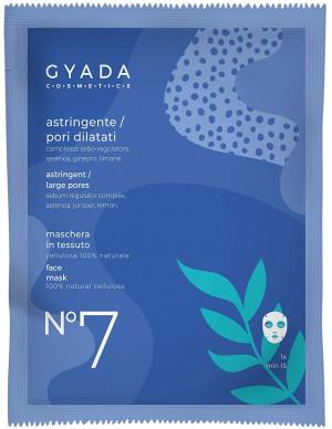 Gyada Cosmetics - Maschera in tessuto n. 6 - Purificante