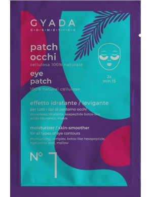 Gyada Cosmetics - Patch Occhi n.1 - Idratanti / Leviganti
