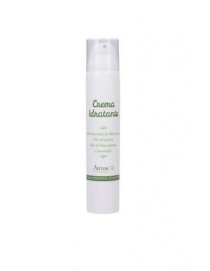 Antos - Crema Idratante Viso per Pelle Normale e Sensibile