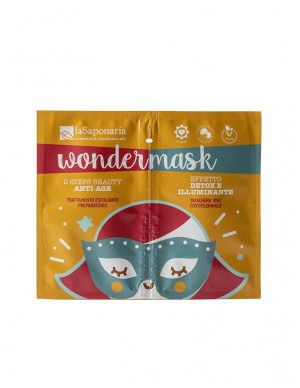 La Saponaria - Wondermask - Maschera 2 Steps Beauty Anti Age