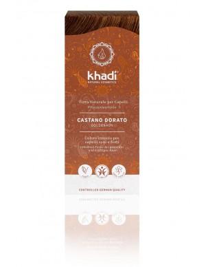 Khadi - Tinta Naturale per Capelli - Castano Dorato