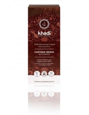 Khadi - Tinta Naturale per Capelli - Castano Medio