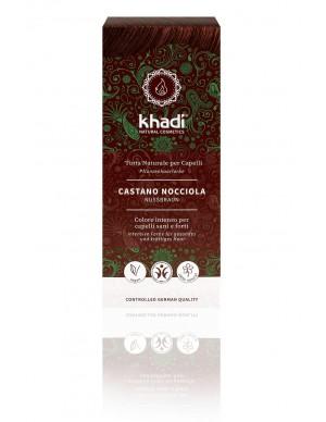 Khadi - Tinta Naturale per Capelli - Castano Nocciola