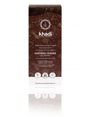 Khadi - Tinta Naturale per Capelli - Castano Cenere