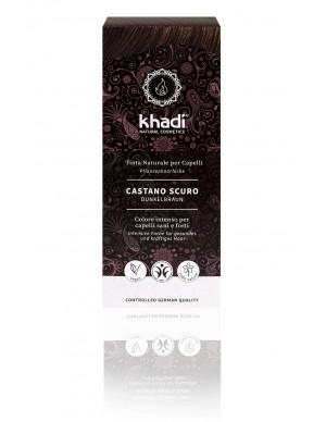 Khadi - Tinta Naturale per Capelli - Castano Scuro