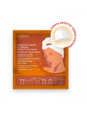 Gyada Cosmetics - Maschera Capelli In Tessuto Effetto Termo-Vapore - Illuminante E Rivitalizzante N.6